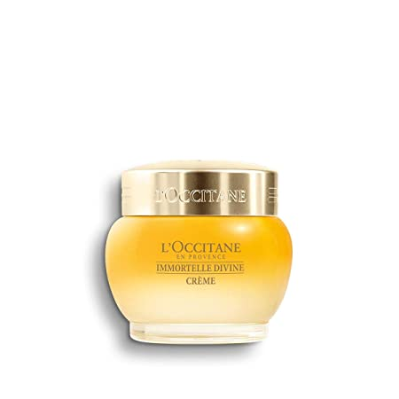 L Occitane Anti-Aging Divine Cream for a Youthful and Radiant Glow, 1.7 oz.