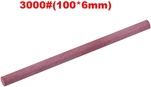 Grits New Whetstone Kitchen Abrasive Sharpener Oil Stone Cone Ruby Polishing