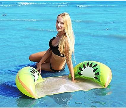 Hamaca + Silla de Descanso + Drifter + Sill/ín de Ejercicio Arco Iris para Piscina Playa Mar Hamaca Flotante Inflable Piscina Colch/ón Hinchable 4 en 1