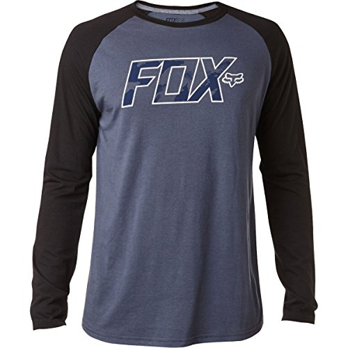 Fox Racing Mens Gemstone Tech Raglan Long-Sleeve Shirt X-Large Pewter (Fox Racing Clothing For Men compare prices)