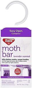 Enoz Moth Bar, Lavender Scent (Case of 6)