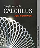 Single Variable Calculus: Early Transcendentals (Paper), CalcPortal and WebAssign 1 Semester Access Code, Rogawski, Jon and WebAssign, 1429247177