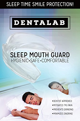 TMJ Mouth Guard Night Time for Grinding Teeth, Bruxism, And Clenching - Includes 3 Custom Fit Professional Dental Guards - Dentist Approved by Dentalab (Image #1)