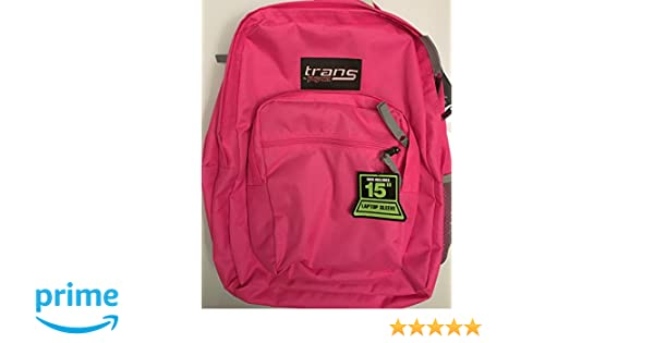 Amazon.com: Trans by JanSport Supermax Fluorescent Pink 15