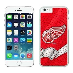 Detroit Red Wings iPhone 6 Plus Cases NHL 6 White NHLW12971 by heywan