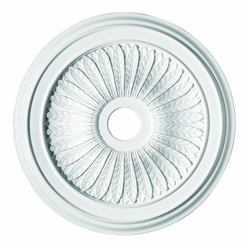 Focal Point 88628 28 Inch Callista Ceiling Medallion Primed White Polyurethane (Focal Point Medallions)