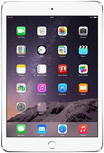 Apple iPad Mini 3 128GB Plata - Tablet (Minitableta, Pizarra, iOS, Plata, Polímero de Litio, 0 - 35 °C)