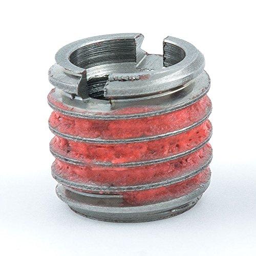 E-Z Lok Externally Threaded Insert, 303 Stainless Steel, 5/16''-18 Internal Threads, 1/2''-13 External Threads, 0.484'' Length, Made in US (Pack of 5) by E-Z LOK