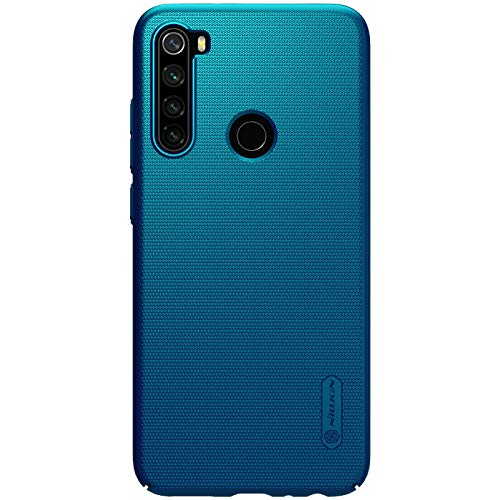 Nillkin Frosted Shield Ultra Thin Hard Plastic Back Cover Case for Xiaomi Redmi Note 8  Blue