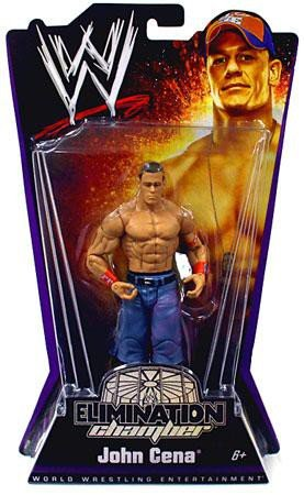 WWE Elimination Chamber 2010 John Cena (Elimination Chamber Toy)