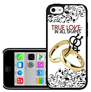 True Love in Any Shape Equality and Love Hard Snap on Phone Case (iPhone 5c)
