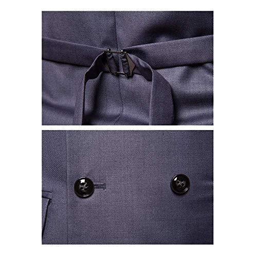 Costume Gilet Top De Black Mariée Sans En Pour Manches Xdljl Soirée Col Robe Slim robe V Hommes SqdWwpxA