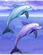 Dolphin: Notebook; Blank Lined Composition Book, Journal, or Diary