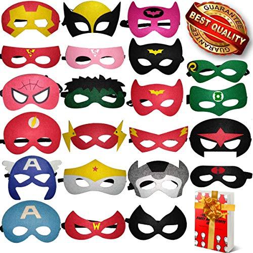 Incredible Hulk Costume Ideas - TONSY Superhero Masks for Kids Birthday