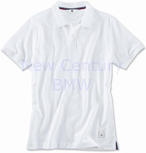 BMW Polo para hombre camiseta – blanco: Amazon.es: Coche y moto