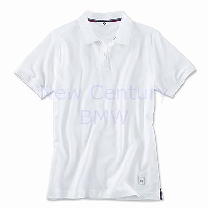 BMW Polo para hombre camiseta - blanco: Amazon.es: Coche y moto