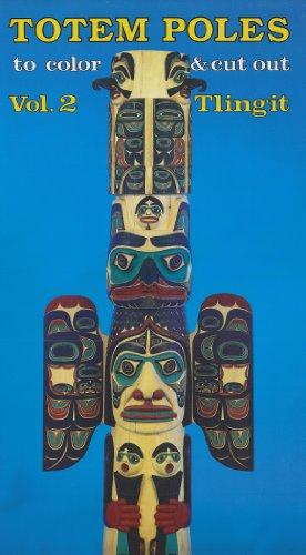 Totem Poles to Color & Cut Out: Tlingit