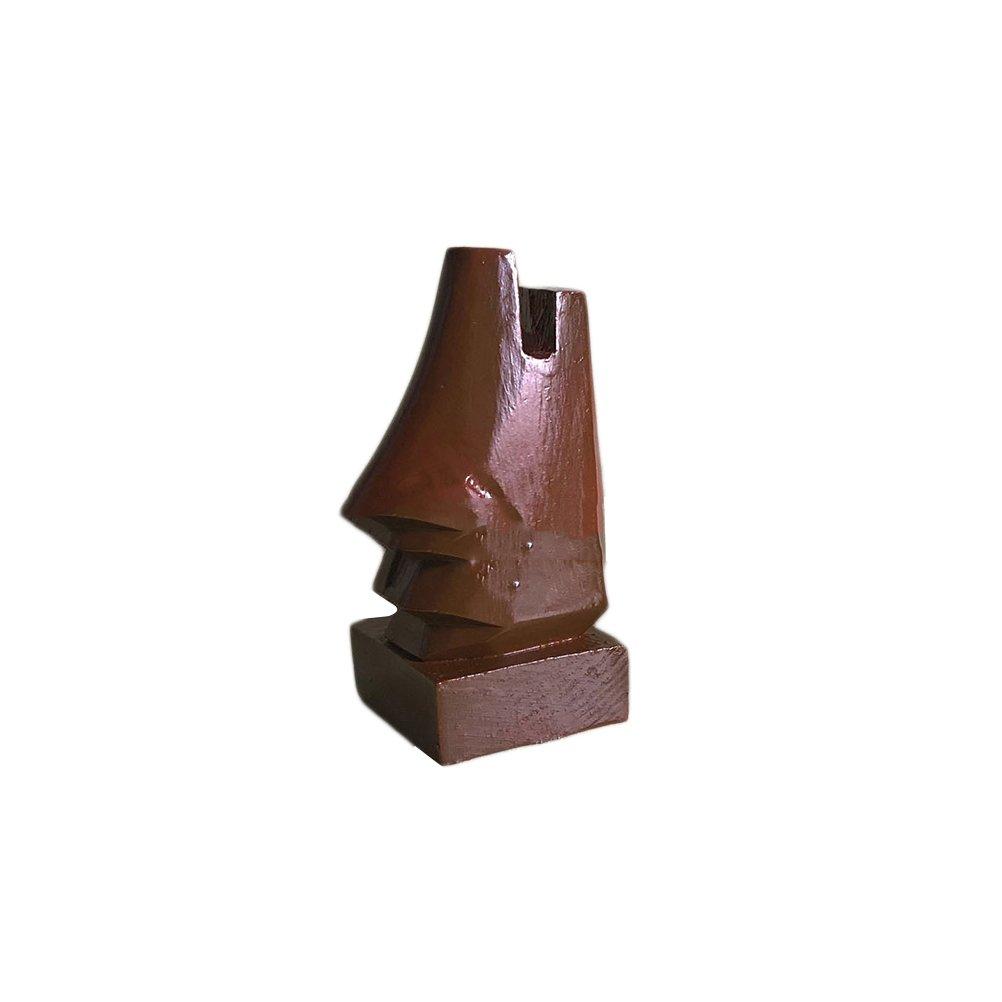 soporte para exhibici/ón de espect/áculos VORCOOL Soporte de madera para gafas de nariz accesorio de escritorio /único y regalos