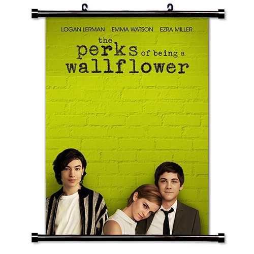 The Perks of Being a Wallflower (Stephen Chbosky) Fabric Wall Scroll Poster (16 x 22) Inches