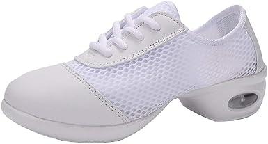 Liquidation - Zapatillas de deporte para mujer (compresión de 5 cm, transpirable) blanco 41: Amazon.es: Ropa y accesorios