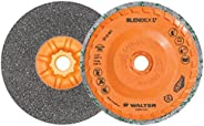Walter Surface Technologies 07U451 Blendex U Cup Disc - (Pack of 5) Versatile, Durable Abrasive Disc with Trim