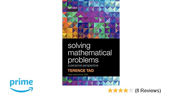 Solving Mathematical Problems Terence Tao Pdf