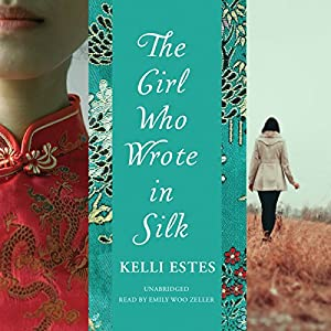 The Girl Who Wrote in Silk Hörbuch