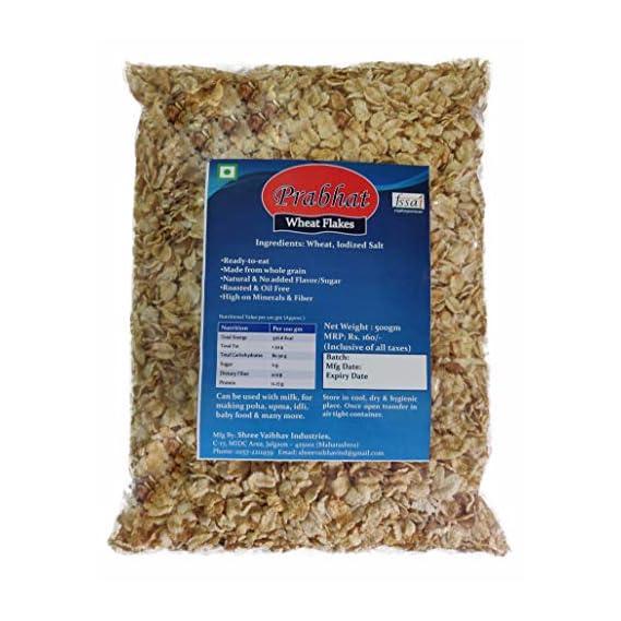Prabhat Wheat Flakes, 2 x 500 g