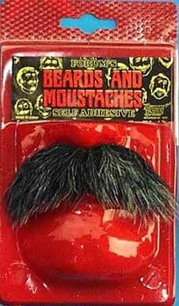 Forum Novelties 54995 Literate Moustache, Black