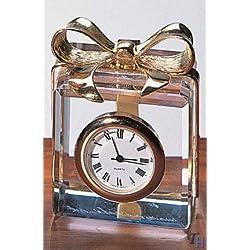 Badash Crystal Mini Gift Box Clock- SU309