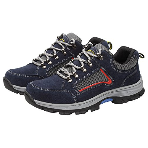 Shoes Toe Men's Optimal Shoes Blue Work Shoes Blue Safety Steel pw0xYg7q1x