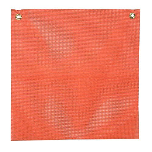 Orange Mesh Safety Replacement Flag