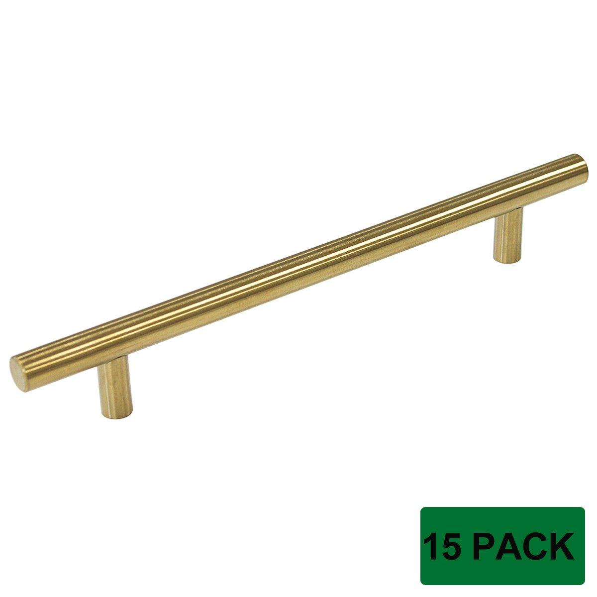 Satin Brass Cabinet Pulls Probrico Brushed Brass Modern Cabinet Hardware Drawer Handle Pulls