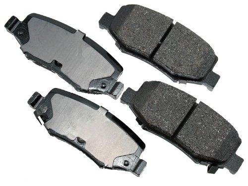 Akebono ACT1274 ProACT Ultra-Premium Ceramic Brake Pad Set