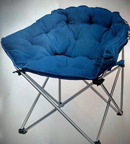 Navy Blue Faux Suede Club Chair (Eclipse Club Chair)