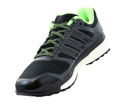 eb38b508f adidas Supernova Glide 6 Boost ATR Running Sneaker Shoe - Black Black Neon  Green - Mens - 8