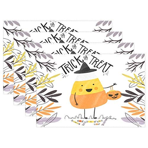Cute Halloween Background Placemat Dining Table Mat 12