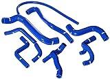 Venair (600001110818-BL) 7-Piece Coolant Silicone Hose Set, Blue