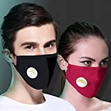 NP 3 pcs Cotton Face Cover with 6 pcs Actived