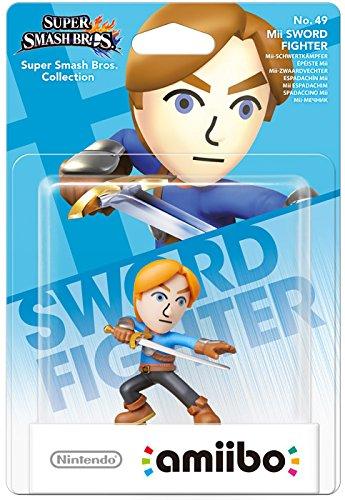 Mii Swordfighter amiibo Europe Australia Super