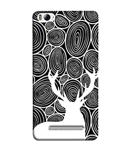 ColorKing Xiaomi Redmi 4A Case Shell Cover - Deer Wood Multi Color