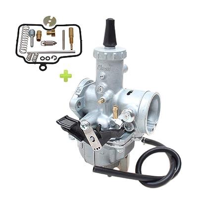 Hwbnde VM26 Carburetor, Works with Mikuni Carb Honda Hawk Go-kart Taotao ATV Dirt CRF KLX TTR XR Pit Dirt for PZ30 150cc 160cc 200cc 250cc 30mm: Automotive
