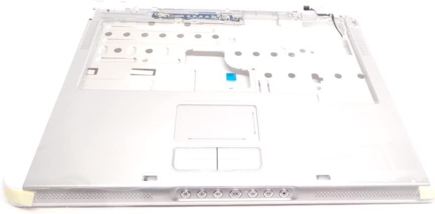 Dell Inspiron E1505 6400 Palmrest Touchpad Media Board Hinge Covers JM051 HF909