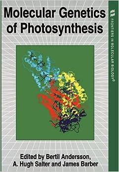 Book Molecular Genetics of Photosynthesis (Frontiers in Molecular Biology)