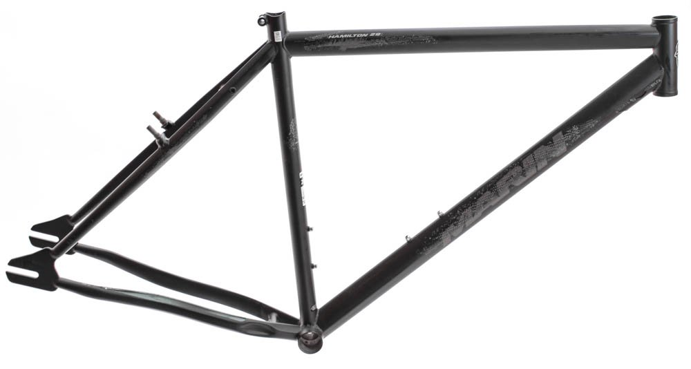 19'' MARIN HAMILTON 29ER Urban Single Speed Fixed Gear Bike Frame Black NEW