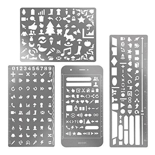 eBoot Stainless Painting Stencils Scrapbooking