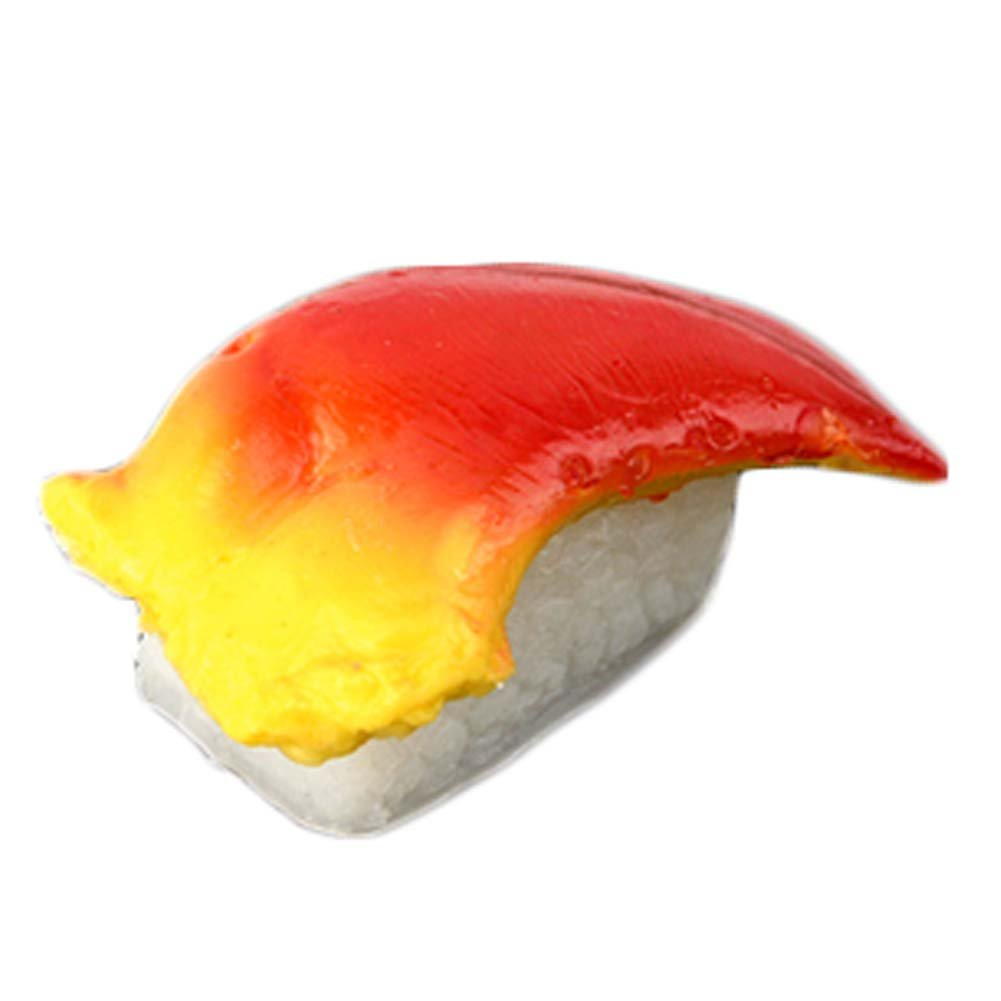 George Jimmy 2 PCS Simulation Sushi Food Model Sushi Cooking Window Display Props #15