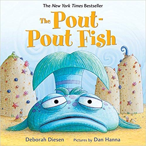 The Pout-Pout Fish (by Deborah Diesen) Paperback Book
