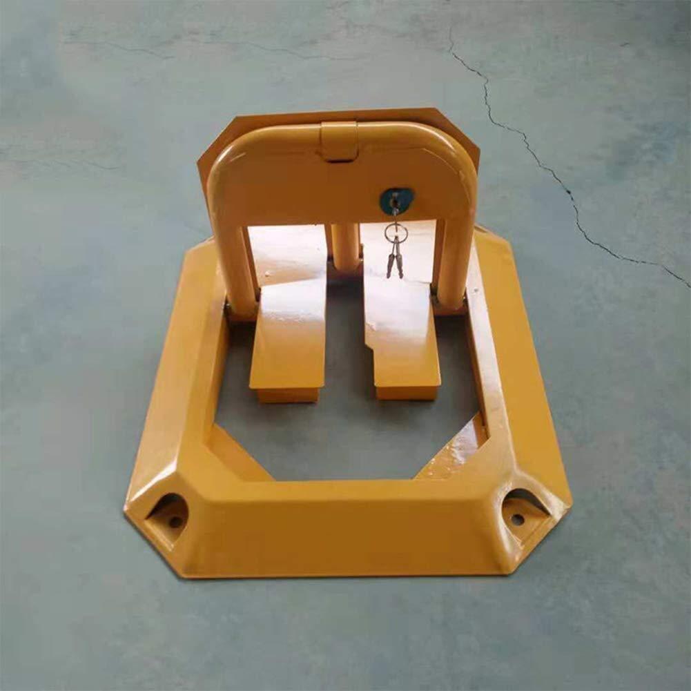 bloqueo octogonal anti presi/ón Dispositivo de seguridad Bisel de estacionamiento manual y metal//obst/áculo que ahorra espacio for la construcci/ón de autom/óviles//estacionamientos de estacionamiento