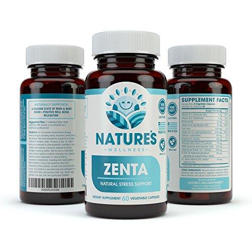 ZENTA – Anxiety Relief & Stress Support Supplement ...